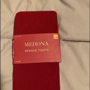Merona opaque tights
